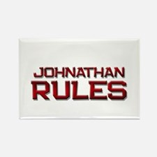 johnathan rules Rectangle Magnet