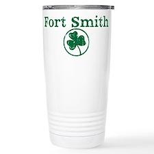 Fort Smith shamrock Travel Mug