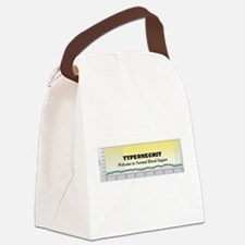 Cool Graph Canvas Lunch Bag