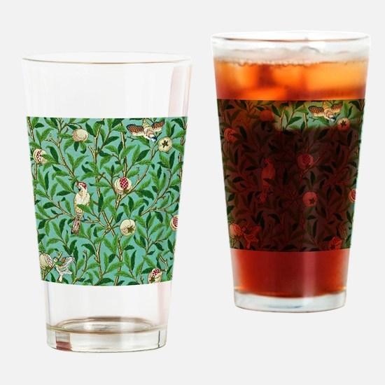 William Morris Design Drinking Glass