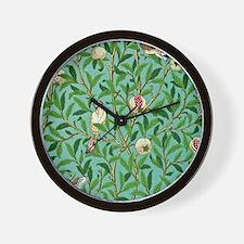 William Morris Design Wall Clock