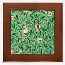 William Morris Design Framed Tile