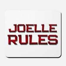 joelle rules Mousepad