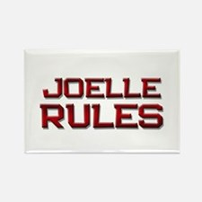joelle rules Rectangle Magnet