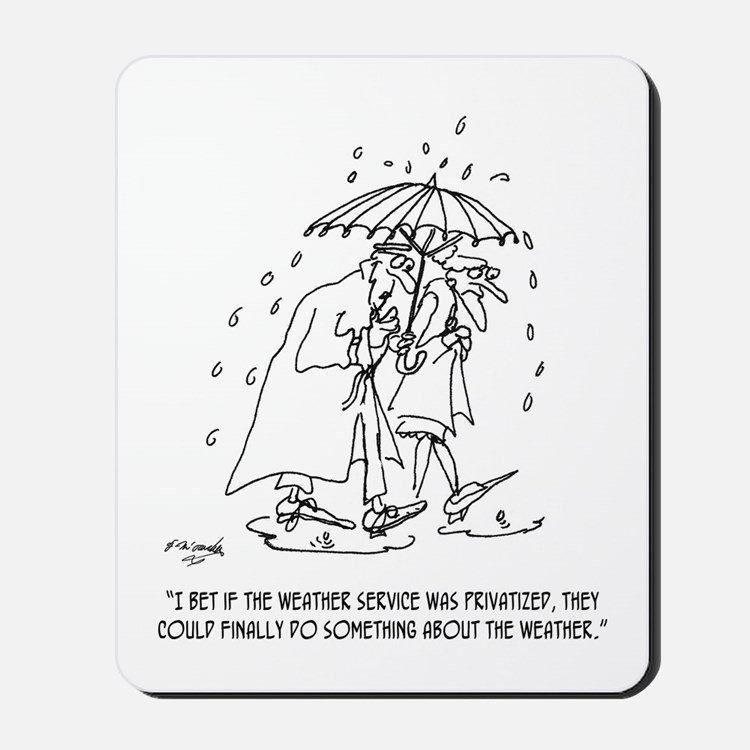 Weather Cartoon 1275 Mousepad