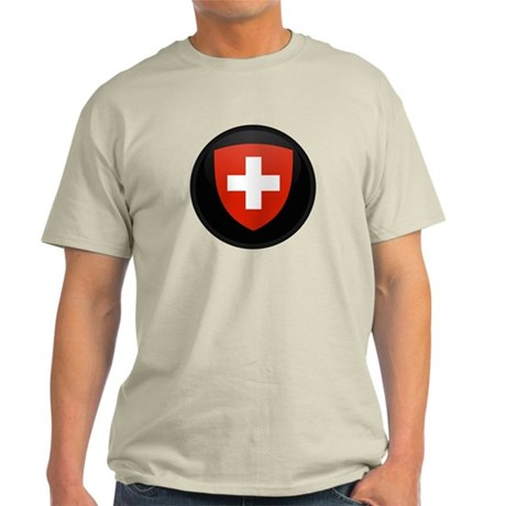 Coat of Arms of Switzerland Light T-Shirt