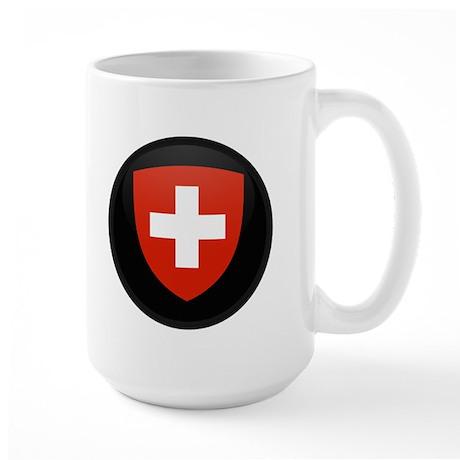 Coat of Arms of Switzerland Large Mug