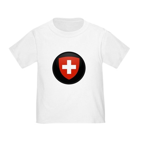 Coat of Arms of Switzerland Toddler T-Shirt