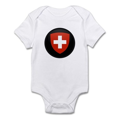 Coat of Arms of Switzerland Infant Bodysuit