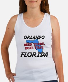 orlando florida - been there, done that Women's Ta