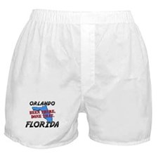 orlando florida - been there, done that Boxer Shor