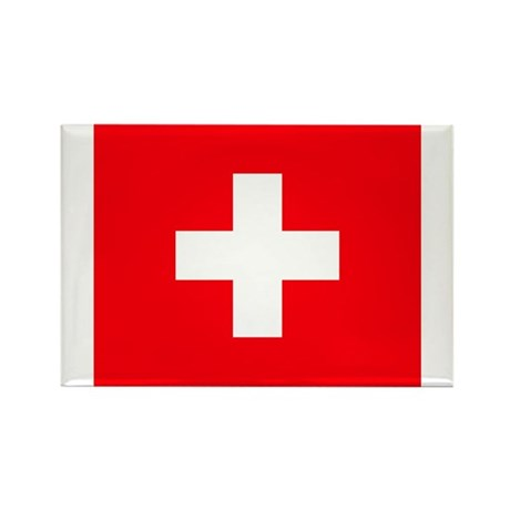 Swiss Rectangle Magnet