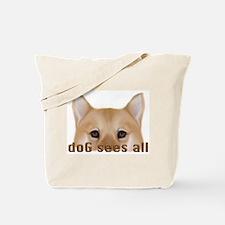 Finnish Spitz Eyes Tote Bag
