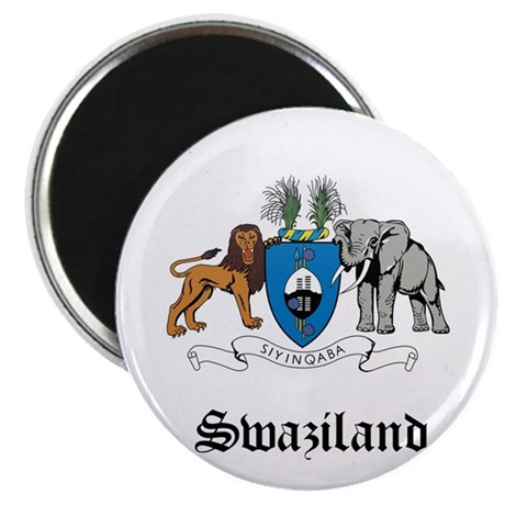 Swazi Coat of Arms Seal Magnet