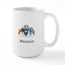 Swazi Coat of Arms Seal Mug