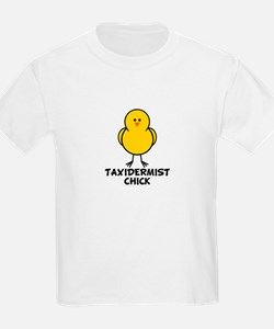 Taxidermist Chick T-Shirt