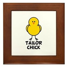 Tailor Chick Framed Tile