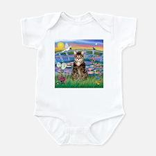 Lilies / Tab Tiger Cat Infant Bodysuit