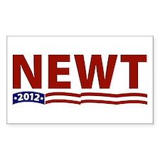 Newt 2012 Rectangle Decal