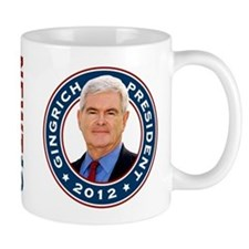 Newt Gingrich for President Small Mug