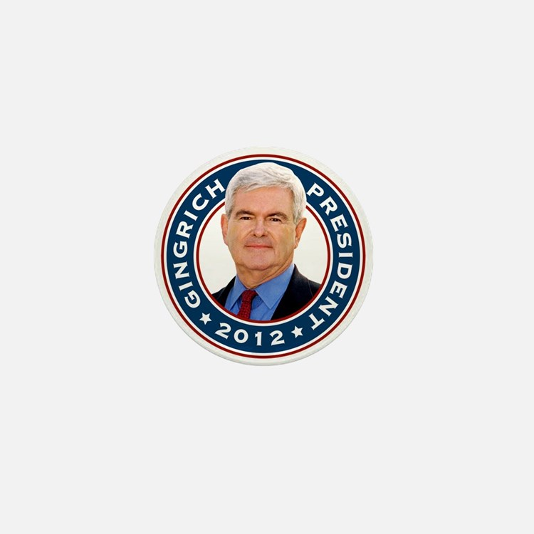 Newt Gingrich for President Mini Button