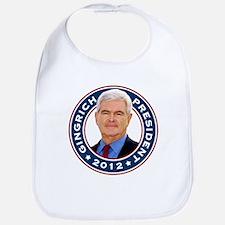 Newt Gingrich for President Bib