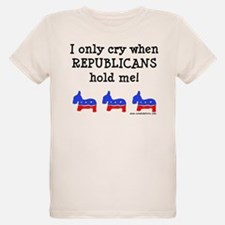 When Republicans Hold Me T-Shirt