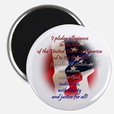 "Pledge of allegiance 2.25"" Magnet (10 pack)"