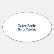 Outer Banks NC Oval Decal
