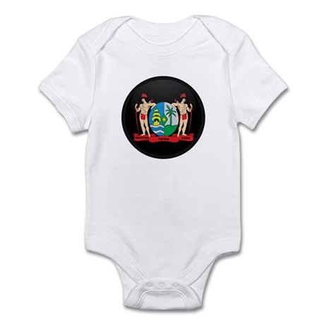 Coat of Arms of suriname Infant Bodysuit