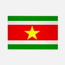 suriname Flag Rectangle Magnet