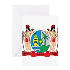 suriname Coat of Arms Greeting Card
