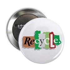"Let's Recycle 2.25"" Button"