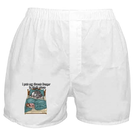 In Their Place Boxer Shorts
