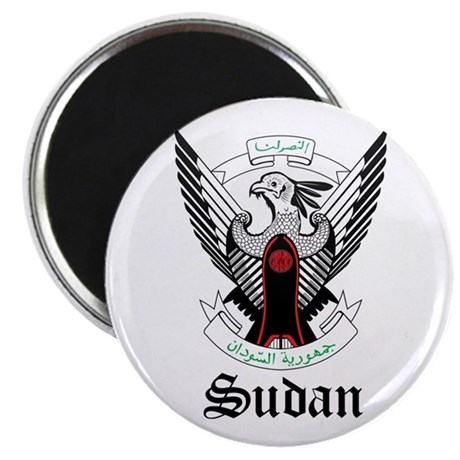 "Sudanese Coat of Arms Seal 2.25"" Magnet (10 pack)"