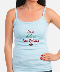 New Orleans Christmas Jr.Spaghetti Strap