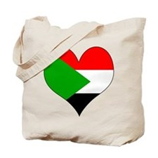 I Love sudan Tote Bag