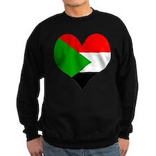I Love sudan Sweatshirt