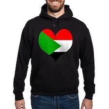 I Love sudan Hoodie