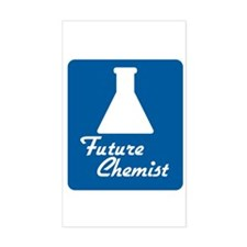 Future Chemist Rectangle Decal