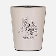 Restaurant Cartoon 1600 Shot Glass