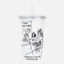 Restaurant Cartoon 160 Acrylic Double-wall Tumbler