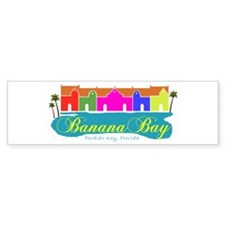 Banana Bay Bumper Bumper Sticker