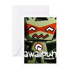 Robot Mascot Photo Greeting Card