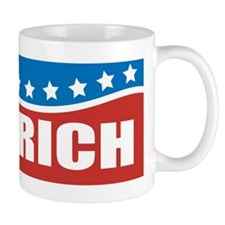 Gingrich Patriotic Coffee Mug