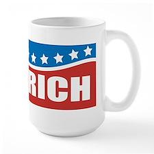 Gingrich Patriotic Mug