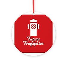 Future Firefighter Ornament (Round)