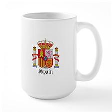 Spaniard Coat of Arms Seal Mug