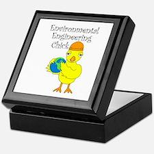 Environmental Engineering Chick Keepsake Box