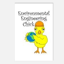 Environmental Chick Postcards (Package of 8)